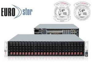 Open-E certifies two servers by Platinum Partner EUROstor for Open-E JovianDSS and DSS V7 software