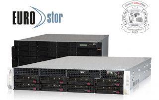 EUROstor ES-8700CLF Metro Cluster zertifiziert für Open-E JovianDSS