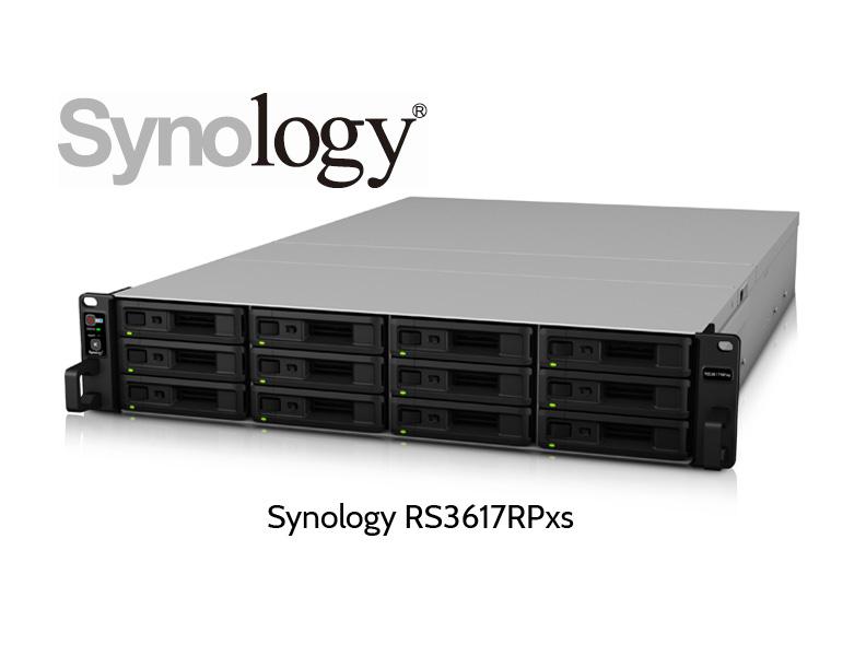 Synology RS3617RPxs NAS Server