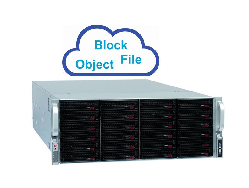 Cloud Server mit 24 Festplatten Slots