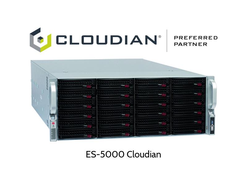 ES-5000 Server mit Cloudian HyperStore