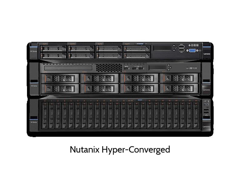 Hyperconvered Storage System von Nutanix