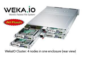 EUROstor ist Partner von WekaIO