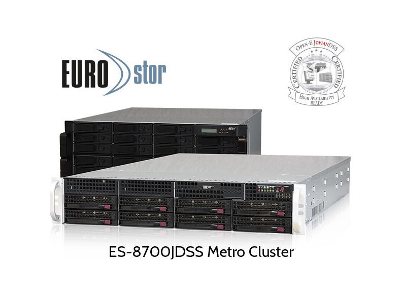 Metro Cluster solution from EUROstor
