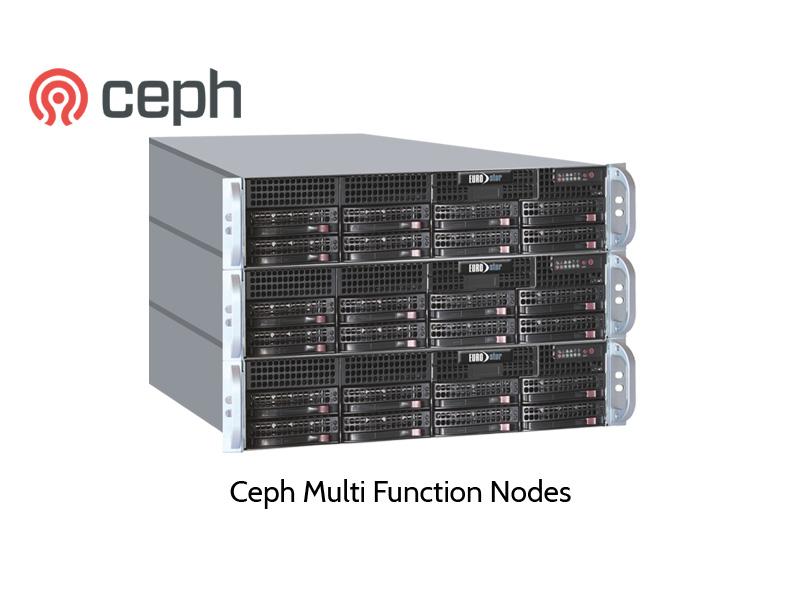 Ceph Cluster by EUROstor