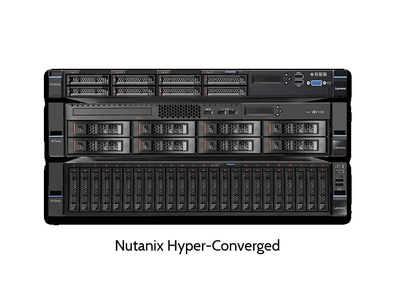 Nutanix hyperconverged storage solution