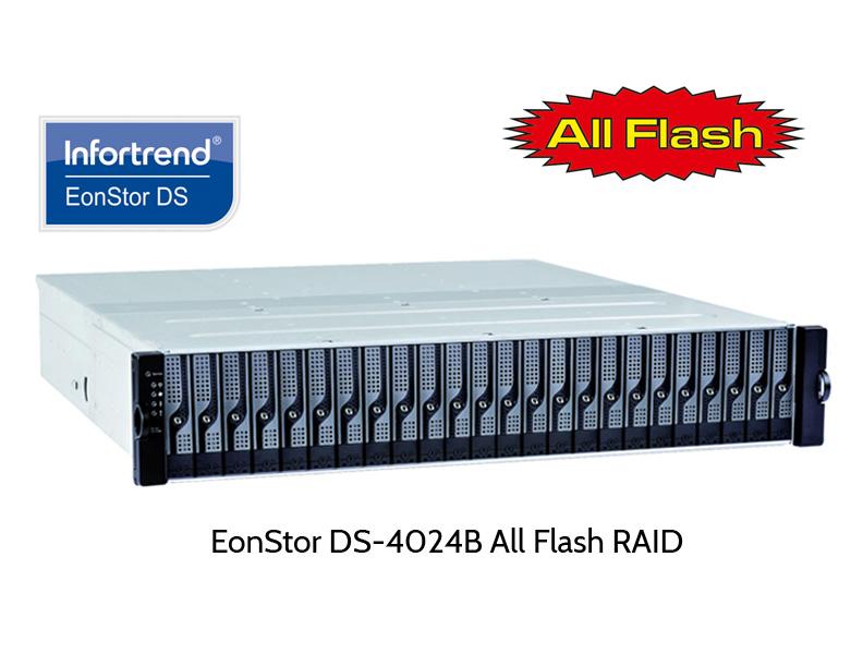 Infortrend EonStor DS-4024 RAID als AllFlash System