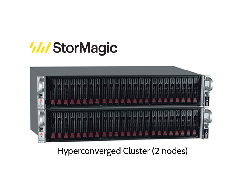 StorMagic Hyper-Converged Cluster