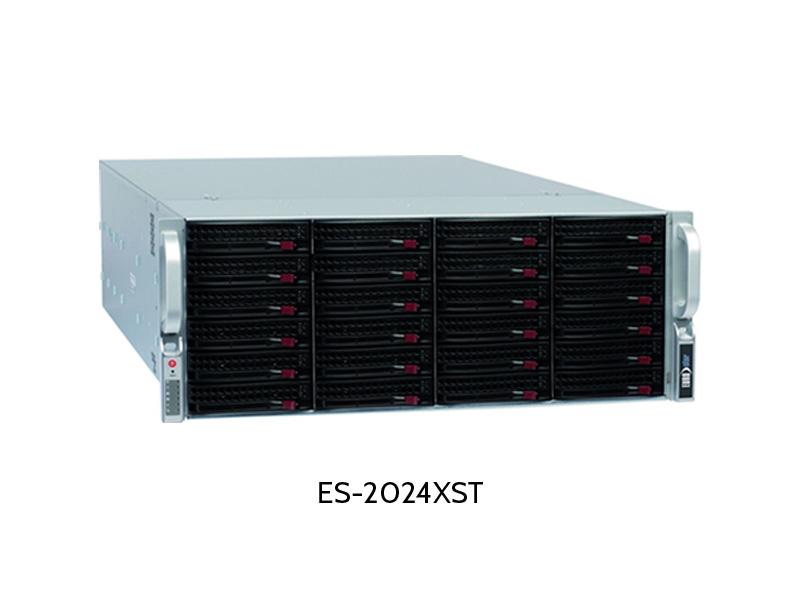 EUROstor ES-2000 Windows Storage Server mit 24 Festplatten