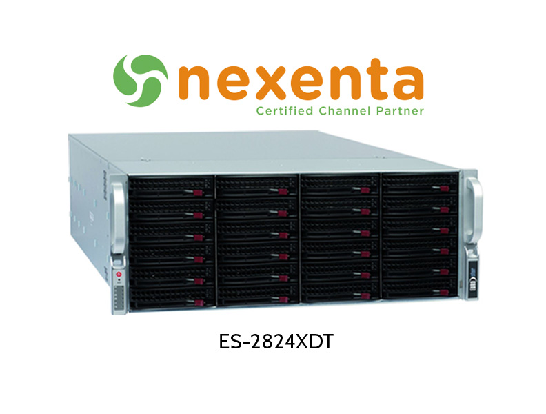 EUROstor Server mit Nexenta ZFS unified Storage