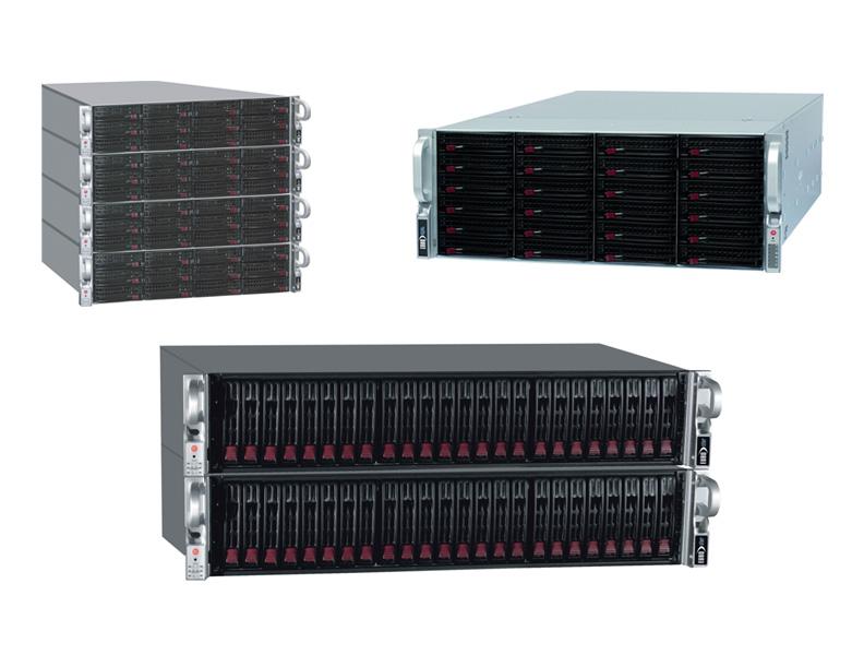 Storagelösungen von EUROStor auf Serverbasis