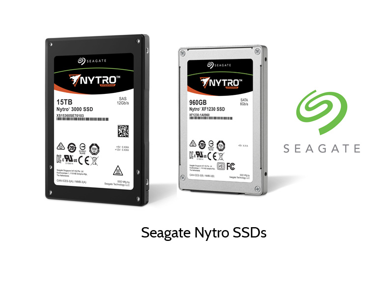 Seagate Nytro SSD models