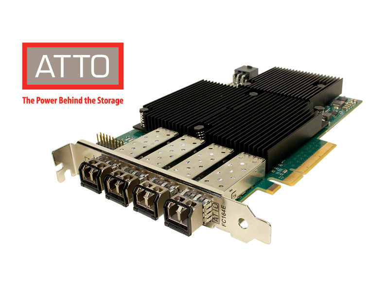 ATTO Fibre Channel PCIe Adapter, 16 Gbit