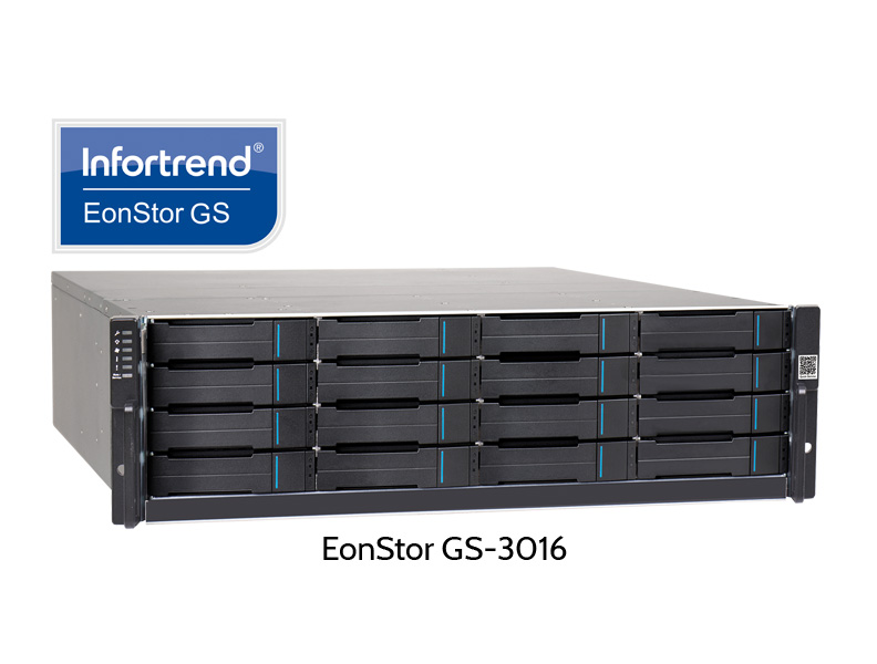 Infortrend EonStor GS-3012, 16 Slot RAID for NAS and iSCSI