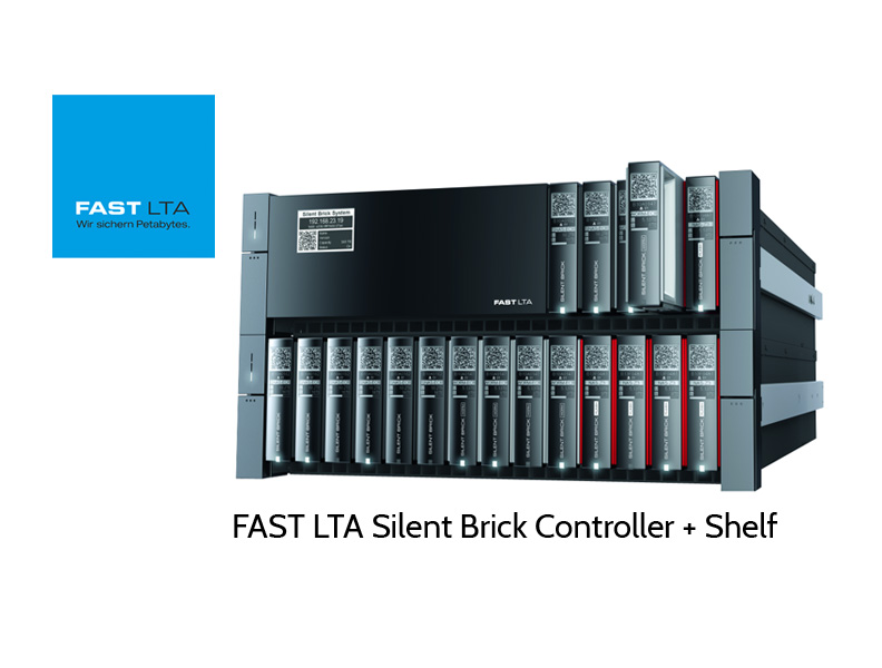 FAST LTA Silent Brick Controller + Shelf