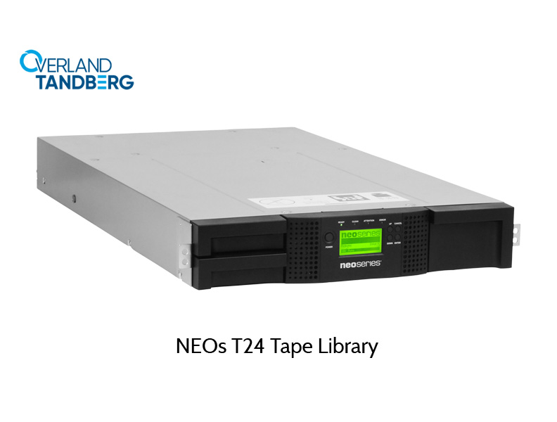 Overland Storage Library, NEOs T24