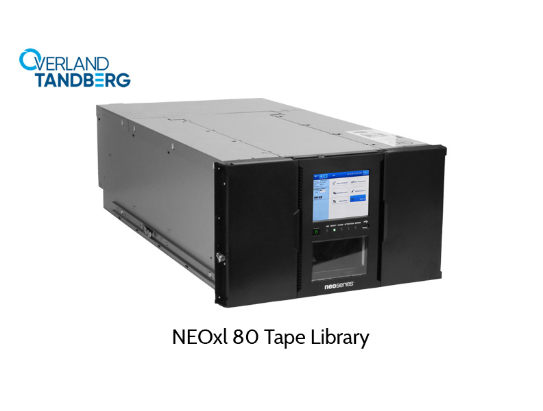 80-slot library, Overland XL80