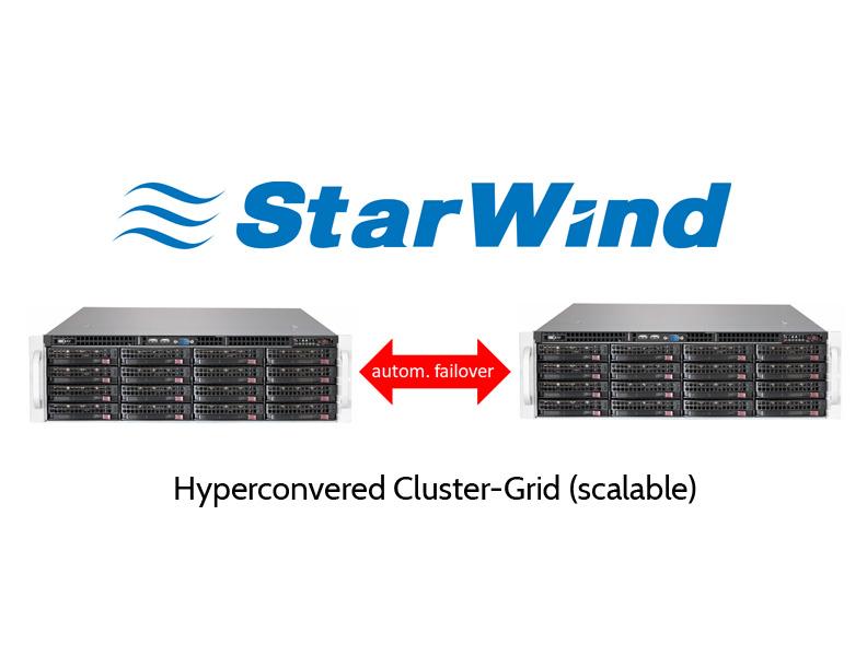 Starwind Hyper-Converged Storage Grid