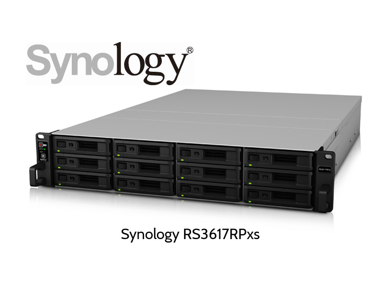 NAS server Synology RS3617RPxs