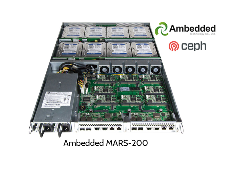 Ambedded MARS-200 Ceph Cluster, open