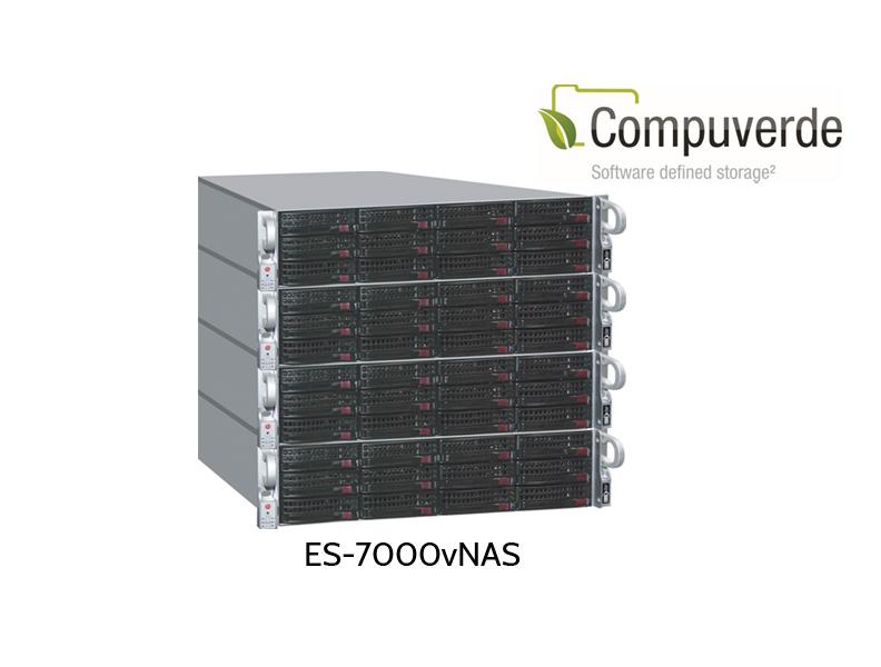 ES-7000 vNAS Scaleout Cluster, vier Knoten