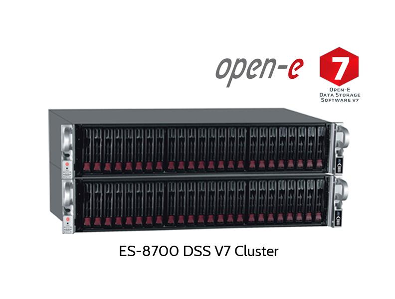 two nodes Open-E metro cluster DSS v7