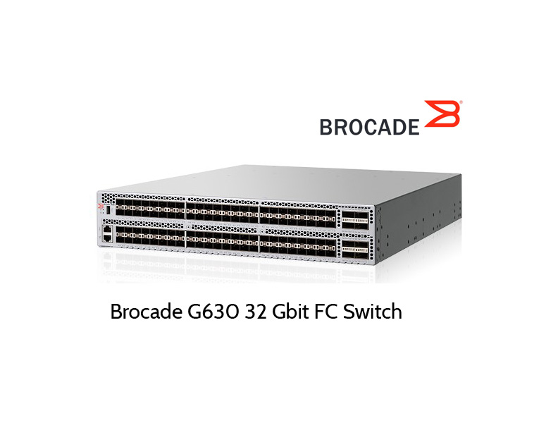 32 Gbit Fibre Channel Switch: Brocade G630