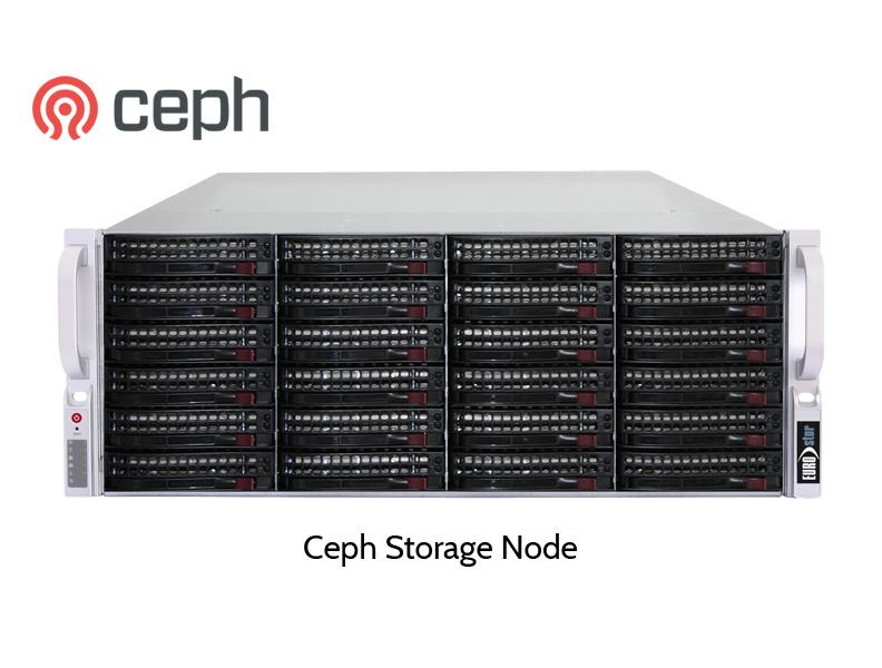 EUROstor Ceph Storage Knoten