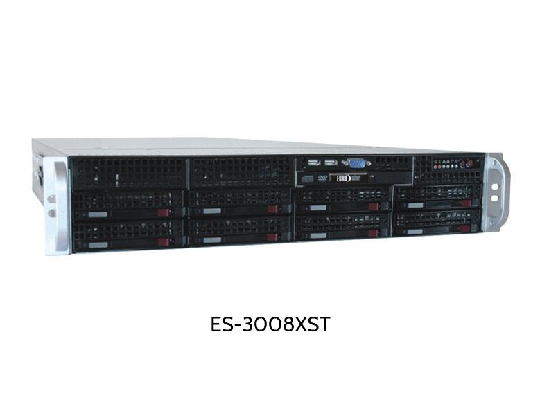 Server mit acht Disk-Slots