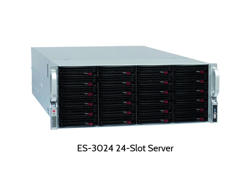 EUROstor ES-3000 Dual Prozessor Server mit 24 Slots
