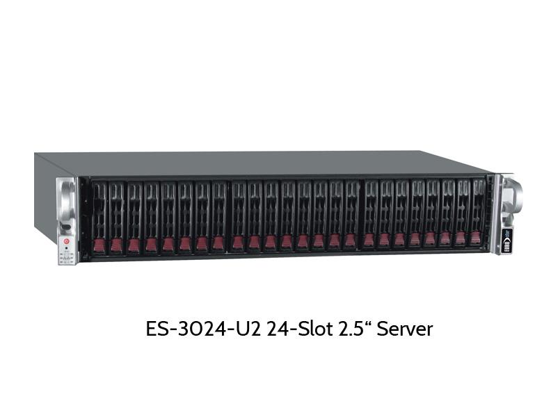 """EUROstor ES-3000D, Server mit 24 2.5"""" Slots"""