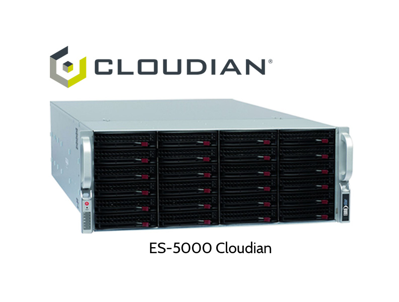 ES-5000 Server mit Cloudian HyperStore