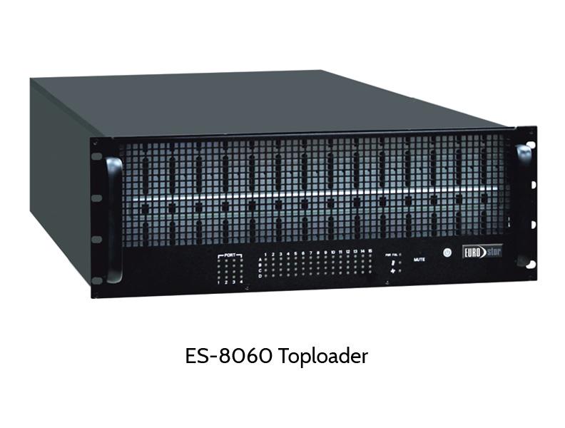 EUROstor ES-8060 SAS Toploader JBOD with 60 disk slots