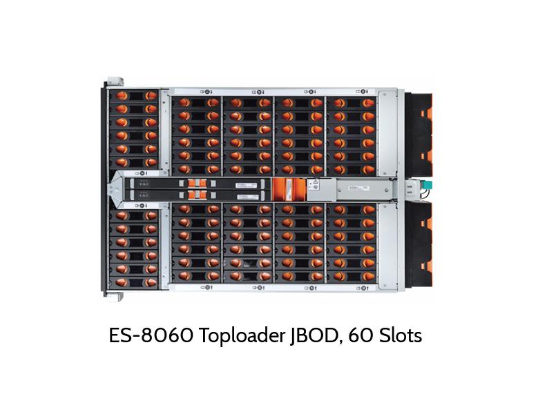 EUROstor ES-8060H Toploader, offen