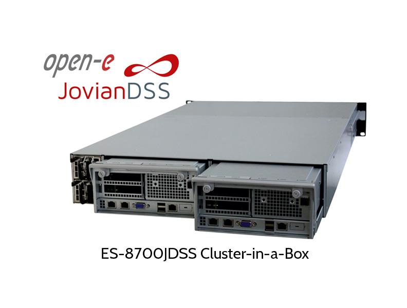 ES-8700 ZFS cluster in a box, Rückseite