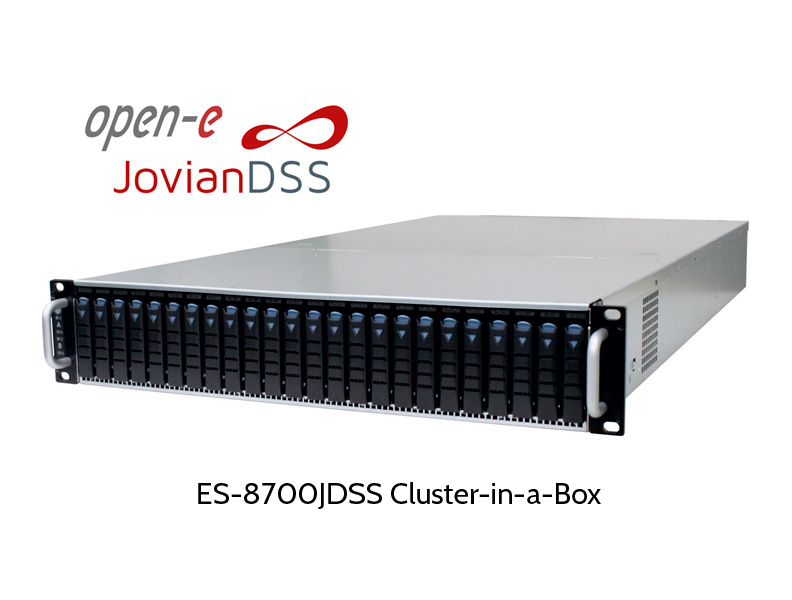 ZFS Cluster-in-a-box, mit Open-E Jovian DSS