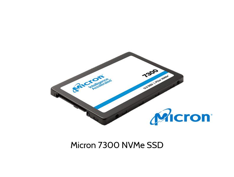Abbildung Micron 7300 NVMe SSD