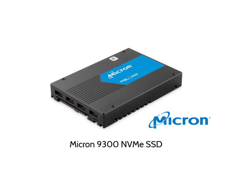 Abbildung Micron 9300 NVMe SSD