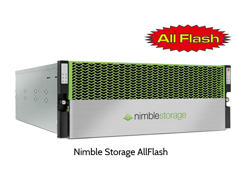 Nimble Storage iSCSI All Flash RAID
